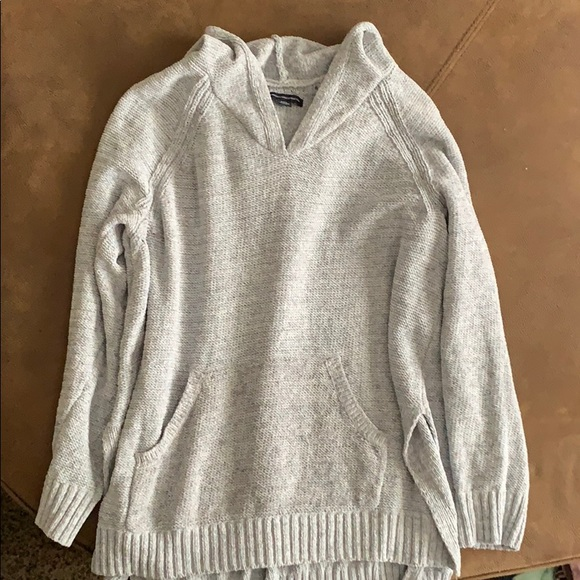 American Eagle Outfitters Tops - American Eagle Hooded Sweater